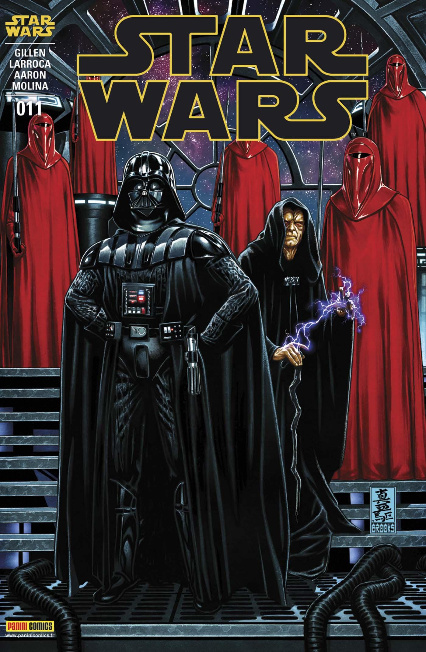 Star Wars 11 - Couverture régulière 1/2 (Mark Brooks – tirage 50%)