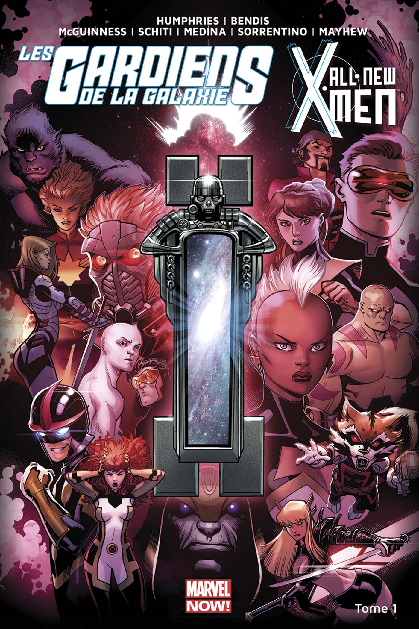Les Gardiens de la Galaxie / All-New X-Men - Le Vortex Noir 1
