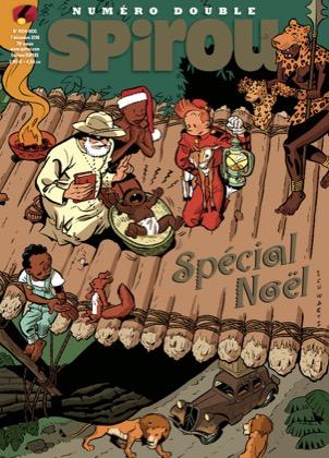 Le journal de Spirou 4104 - 4104-4105 : Numéro Double - Spécial Noël