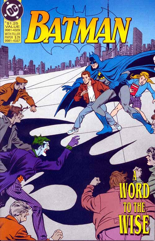 Batman - A Word to the Wise 1 - A Word to the Wise