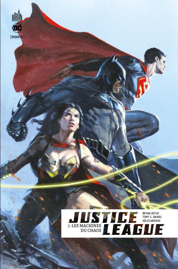 Justice League Rebirth 1 - Les Machines du Chaos