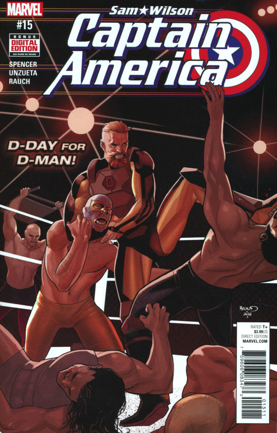 Sam Wilson - Captain America 15