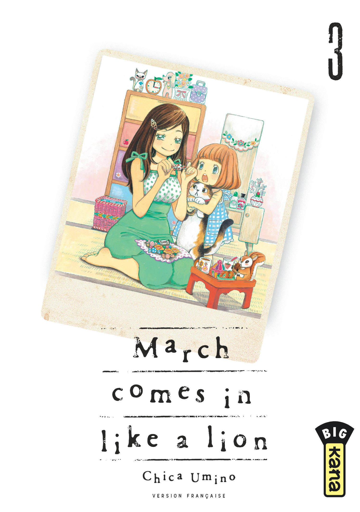 March comes in like a lion 3