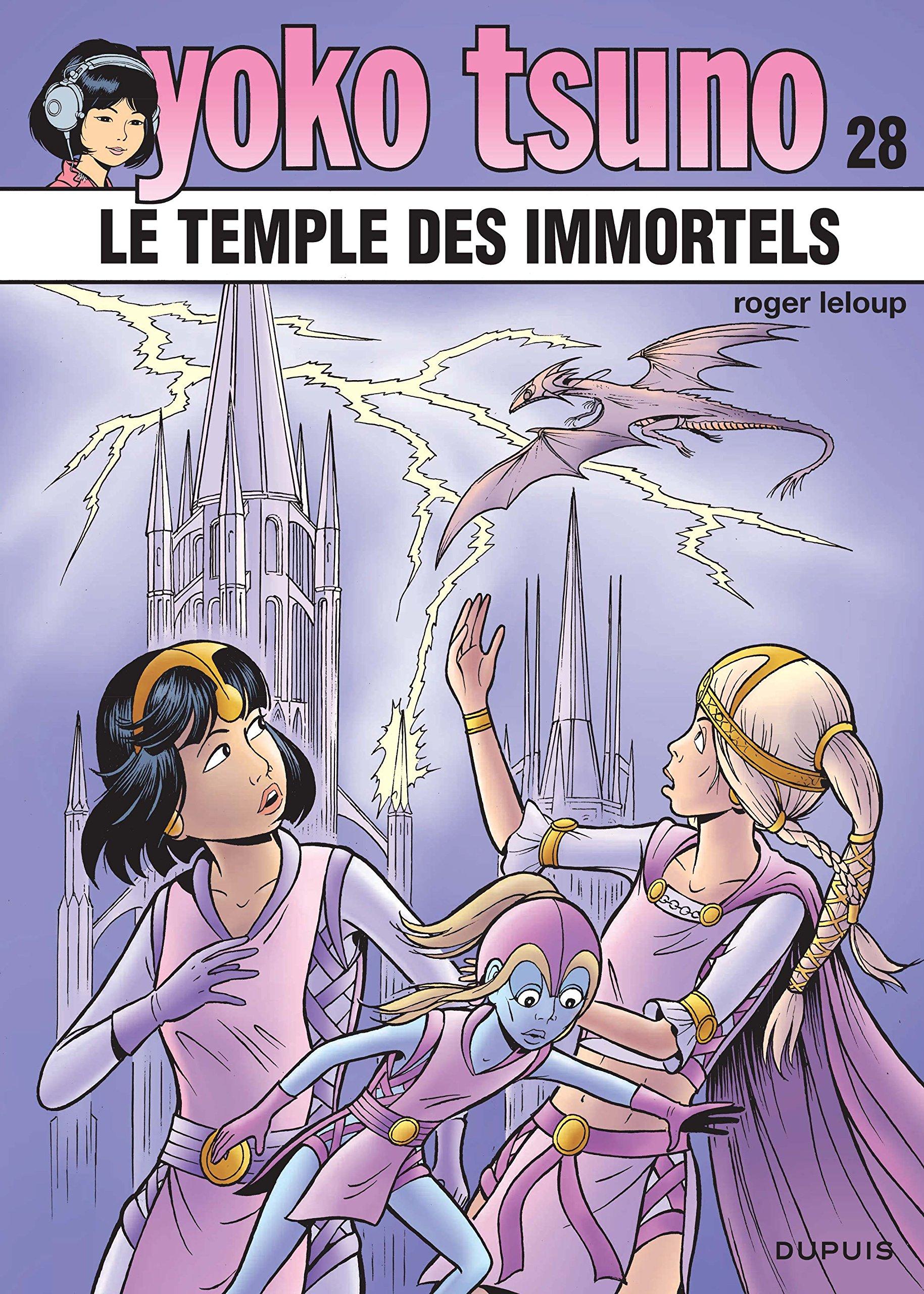 Yoko Tsuno 28 - Le temple des immortels