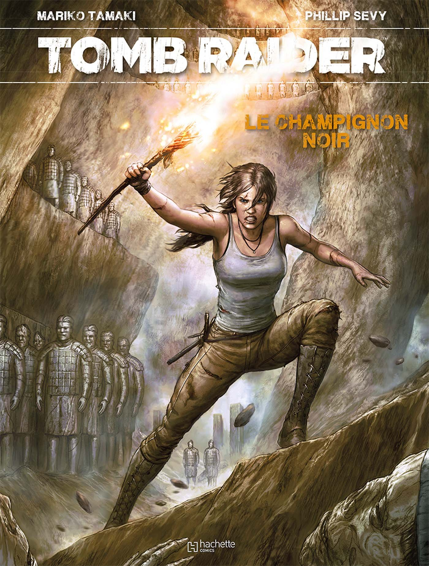 Lara Croft - Tomb Raider 1 - Tomb Raider - Le Champignon Noir