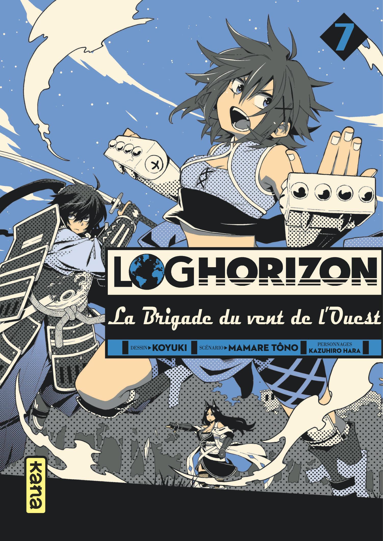 Log Horizon - La brigade du vent de l'Ouest 7