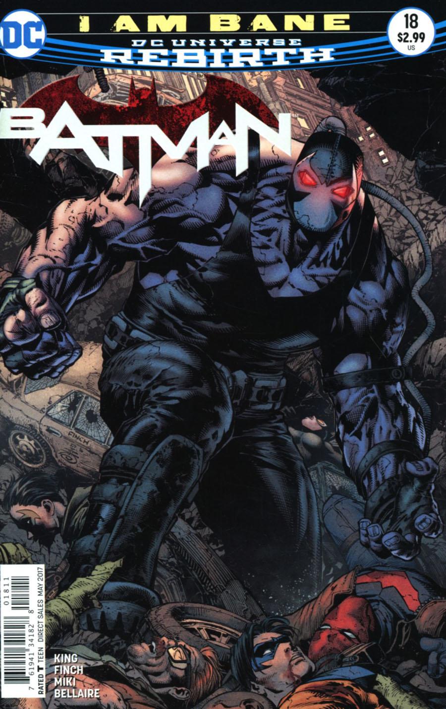 Batman 18 - I Am Bane - part three