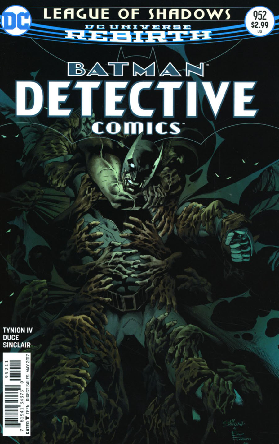Batman - Detective Comics 952 - League of Shadows