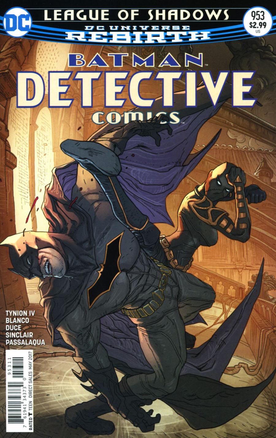 Batman - Detective Comics 953 - League of Shadows 3: Kiss of the Dragon