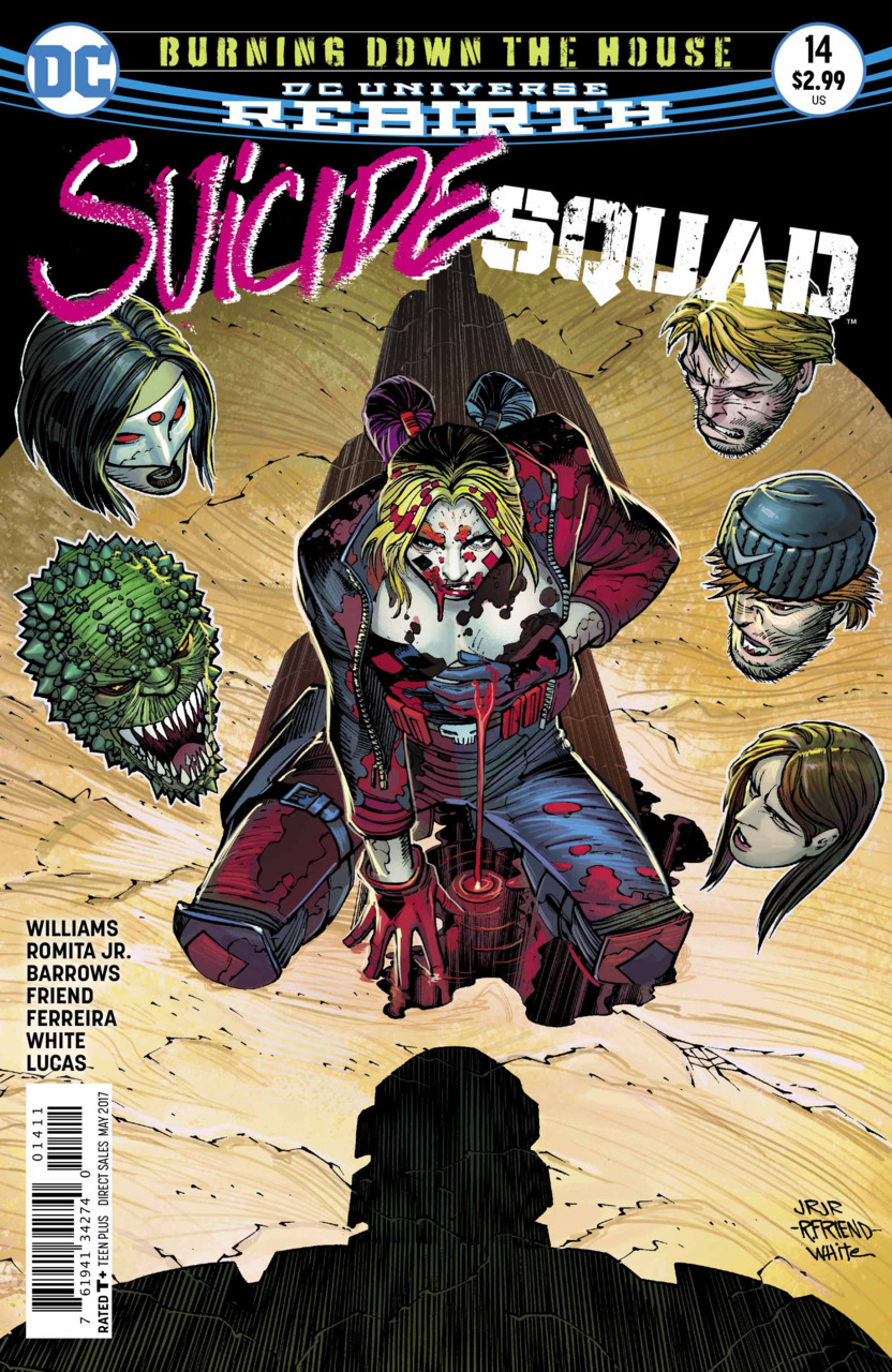 Suicide Squad 14 - Burning Down The House - part four