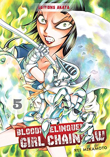 Bloody Delinquent Girl Chainsaw 5