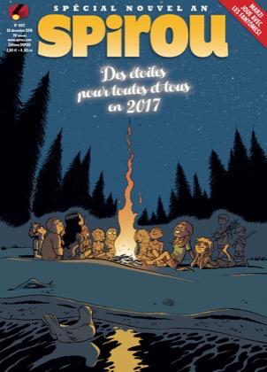 Le journal de Spirou 4107 - Des Étoiles pour Toutes et Tous en 2017 - Numéro Spécial Nouvel An