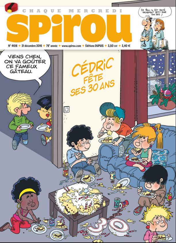 Le journal de Spirou 4106 - Joyeux Anniversaire Cédric