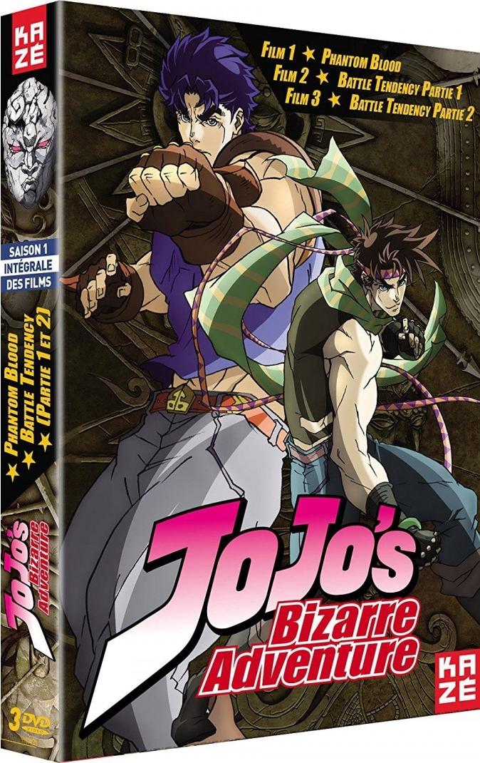 Jojo's Bizarre Adventure (saison 1)(films) 1