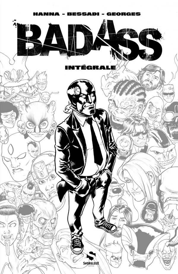 Bad Ass 1 - Intégrale N&B - Tirage limité à 400 exemplaires