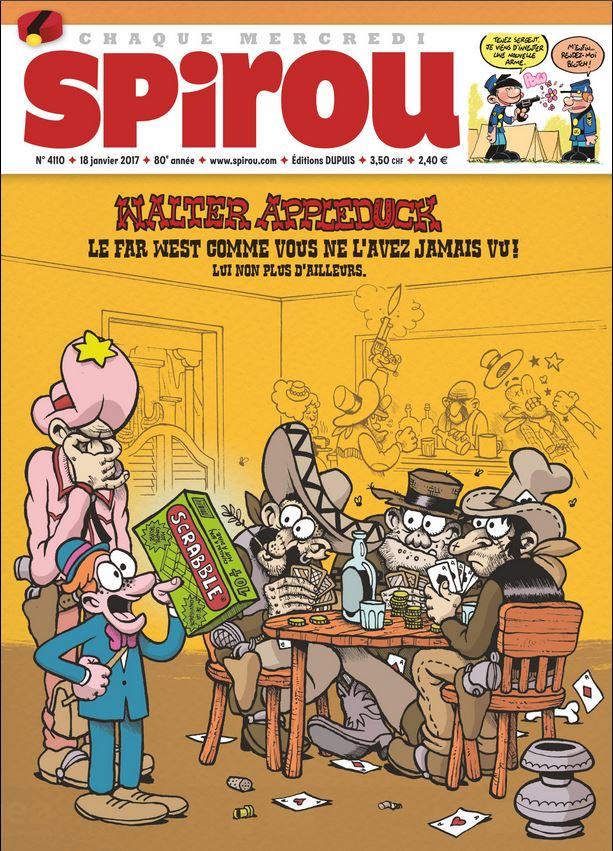 Le journal de Spirou 4110 - Water Appleduck - Le western comme vous ne l'avez jamais vu