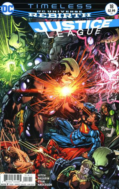 Justice League 18 - 18 - cover #1