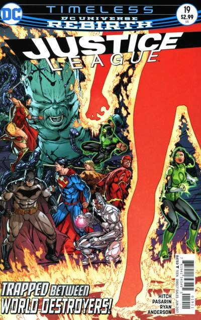 Justice League 19 - 19 - cover #1