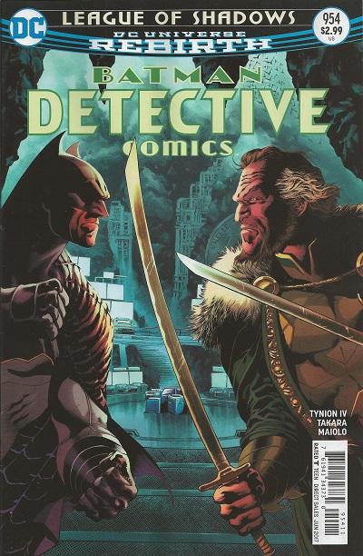Batman - Detective Comics 954 - League of Shadows 4: Snake in the Eagle's Shadow