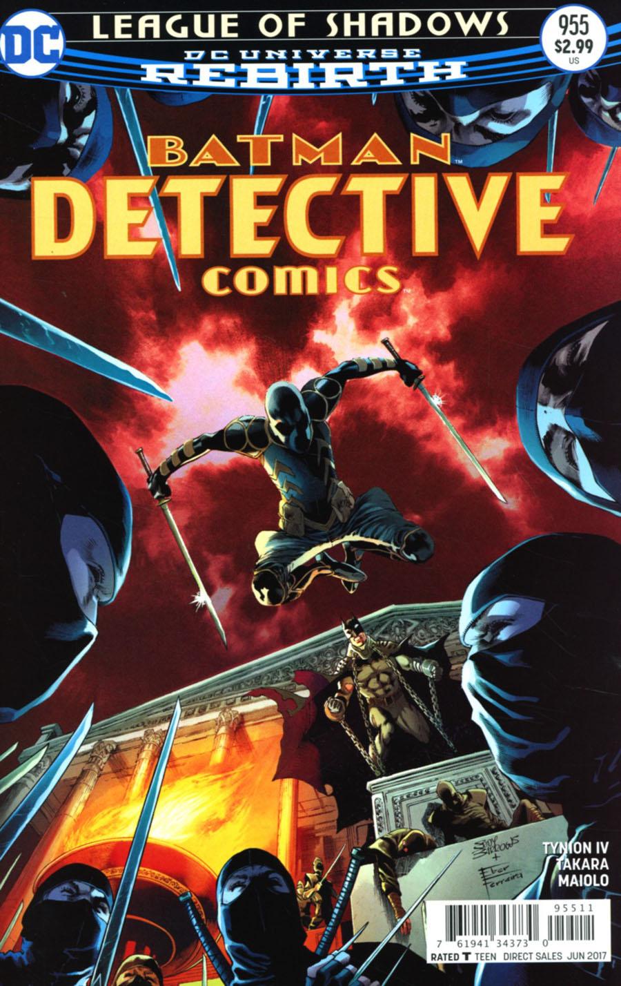 Batman - Detective Comics 955 - League of Shadows Part 5: Fists of Fury