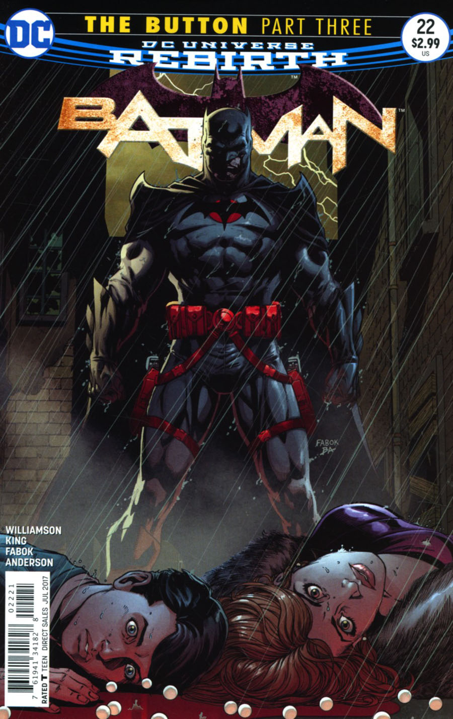 Batman 22 - The Button 3