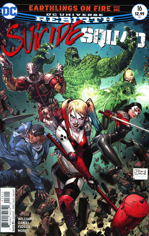 Suicide Squad 16 - Earthlings on Fire