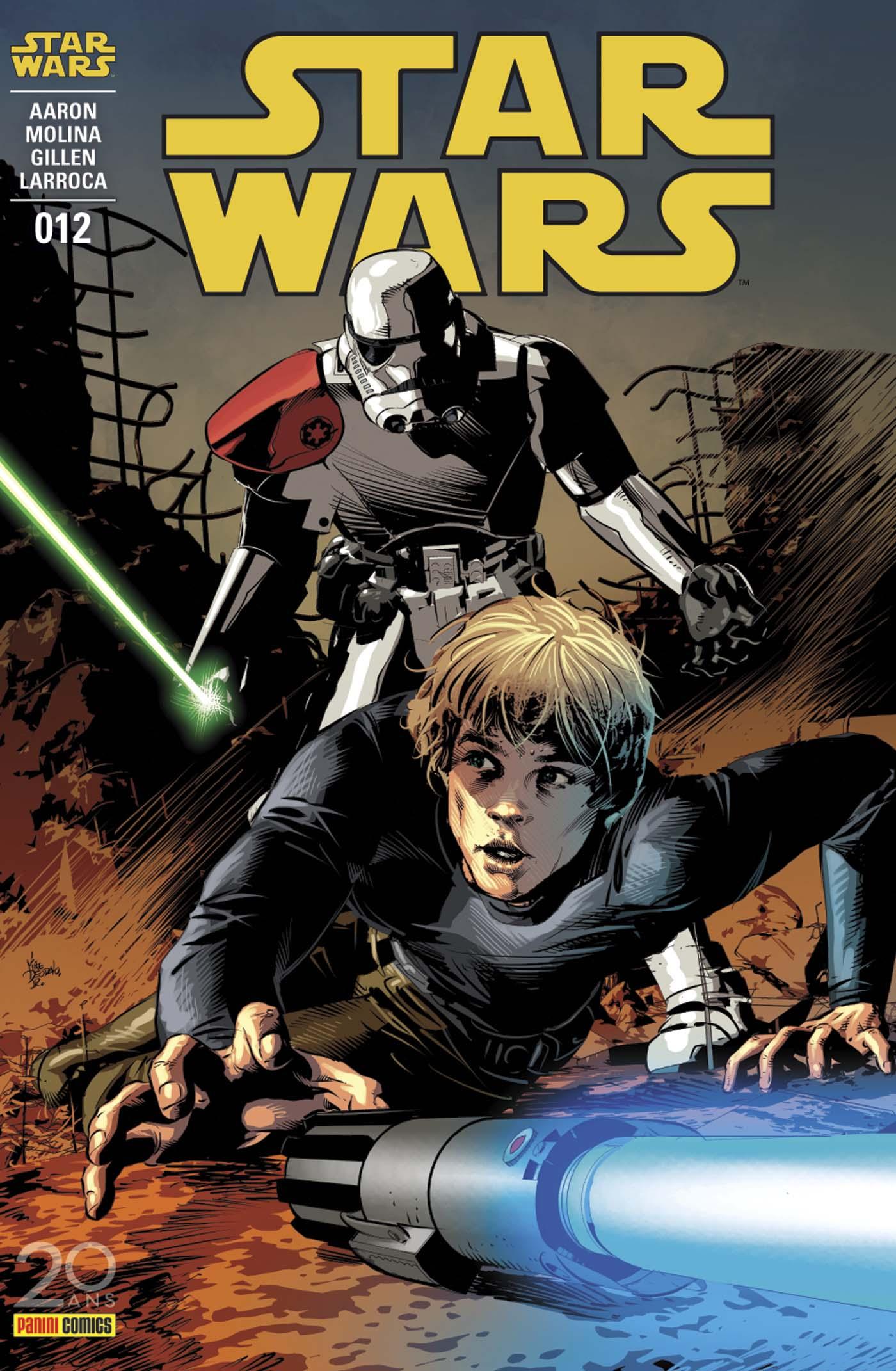 Star Wars 12 - couverture régulière : 1/2 (Mike Deodato Jr – tirage 50%)