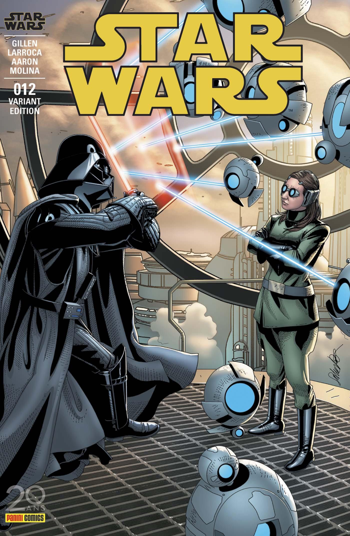 Star Wars 12 - couverture régulière : 2/2 (Salvador Larroca – tirage 50%)