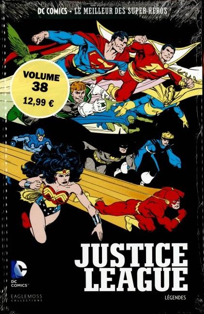 DC Comics - Le Meilleur des Super-Héros 38 -  Justice League Légendes