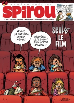 Le journal de Spirou 4113 - Seul, le film