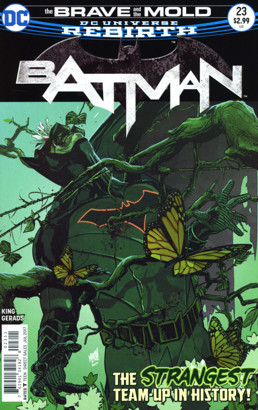 Batman 23 - The Brave and the Mold