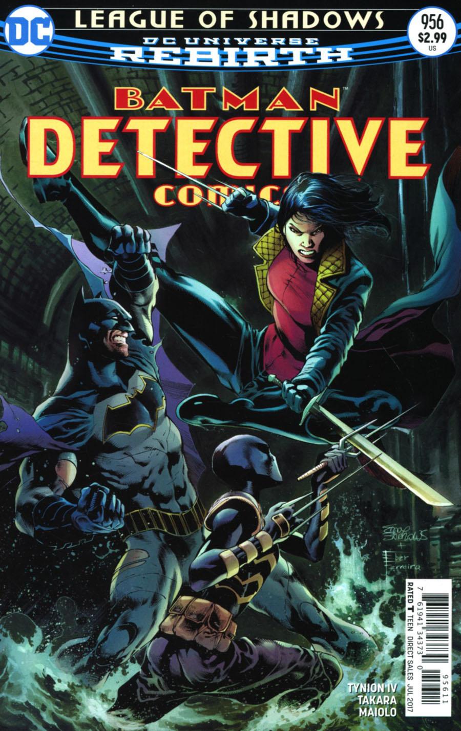Batman - Detective Comics 956 - League Of Shadows - finale