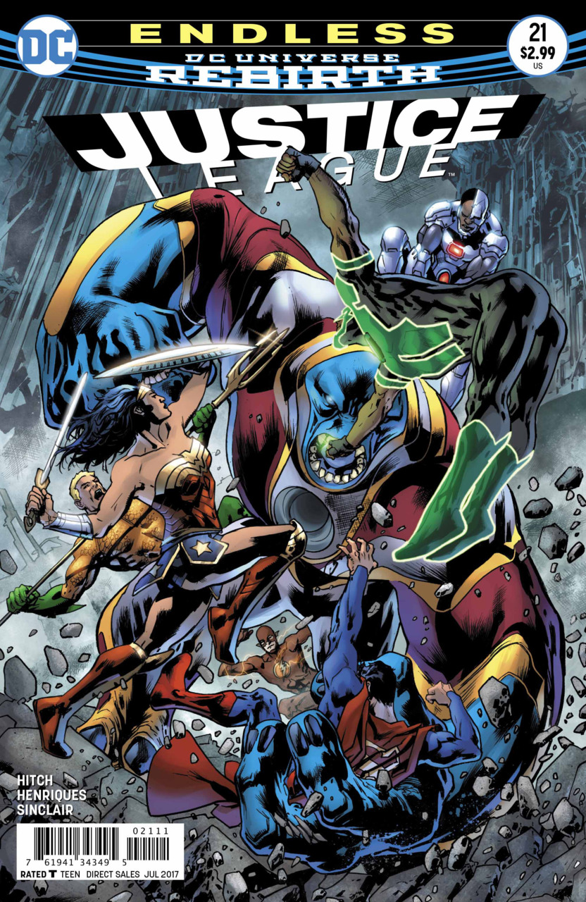 Justice League 21 - 21 - cover #1