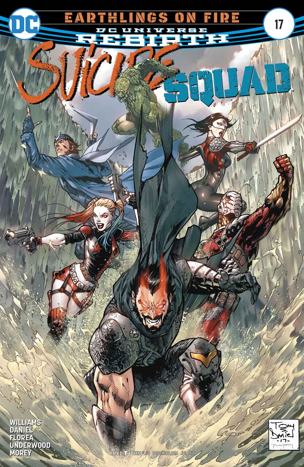 Suicide Squad 17 - Earthlings on Fire 2