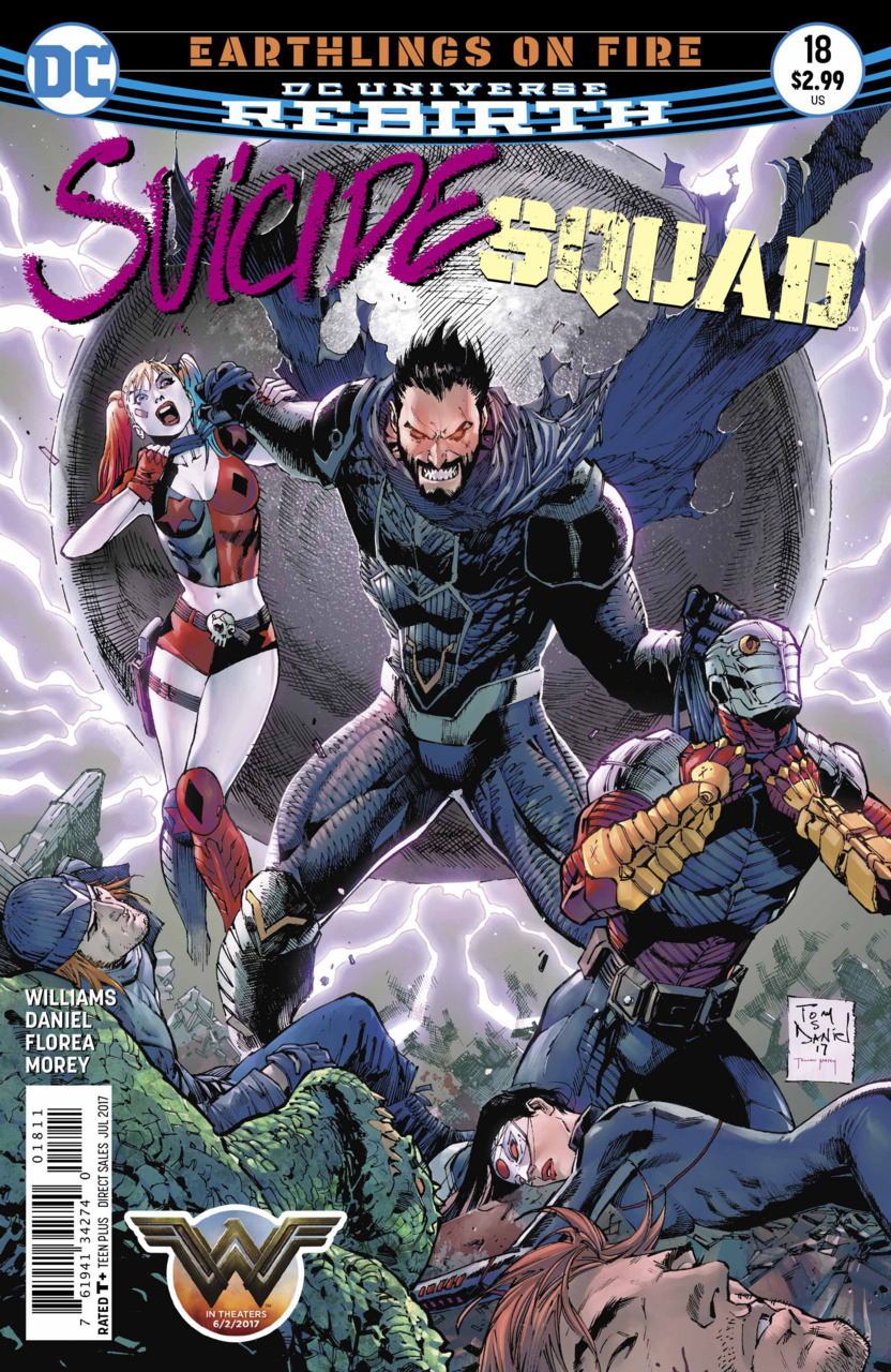 Suicide Squad 18 - Earthlings on Fire 3: Your Future Is Dead