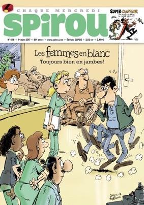 Le journal de Spirou 4116 - Les femmes en blanc, toujours bien en jambes !