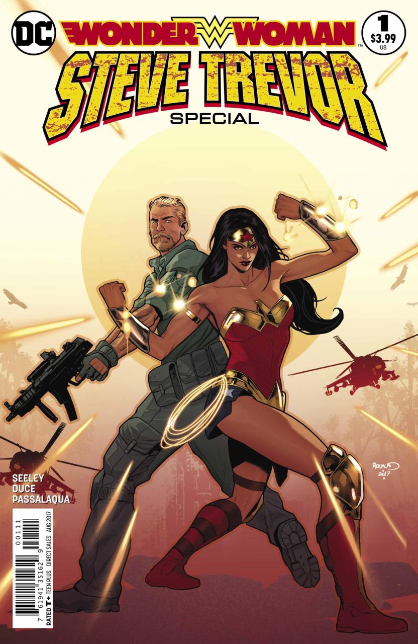 Wonder Woman: Steve Trevor Special 1 - 1 - cover #1