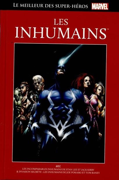 Le Meilleur des Super-Héros Marvel 30 -  Les Inhumains
