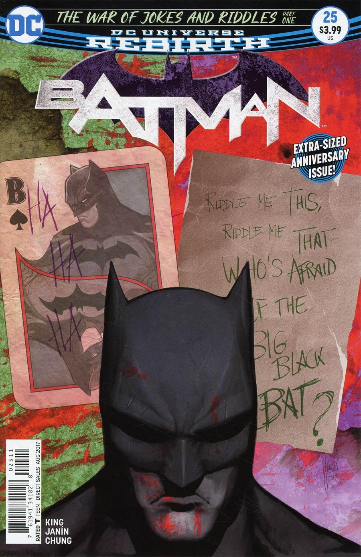 Batman 25 - The War of Jokes and Riddles