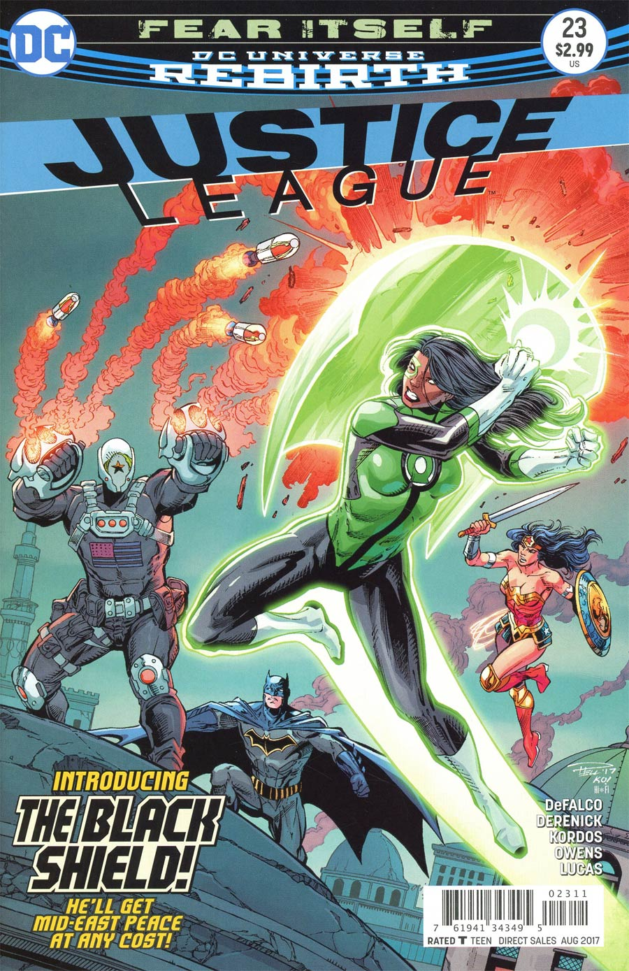 Justice League 23 - 23 - cover #1