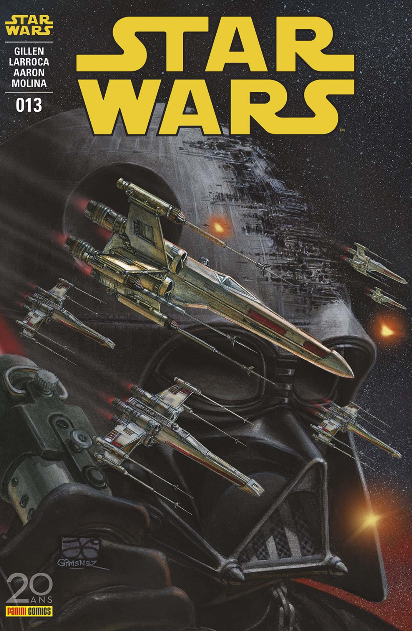 Star Wars 13 - couverture régulière : 1/2 (Juan Gimenez – tirage 50%)