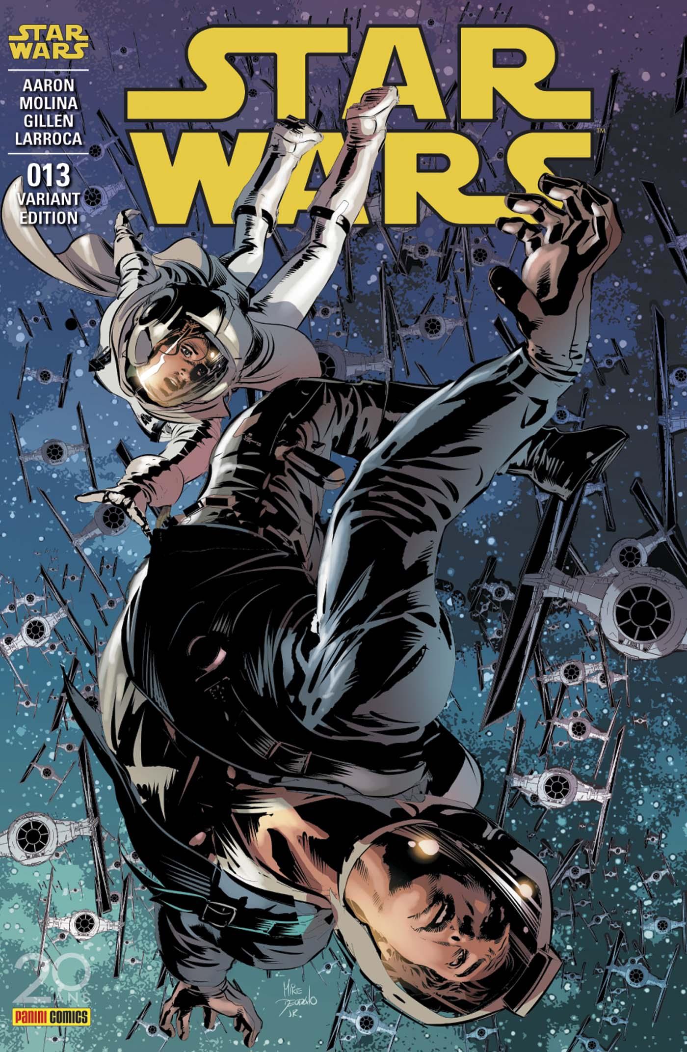Star Wars 13 - couverture régulière : 2/2 (Mike Deodato Jr –tirage 50%)