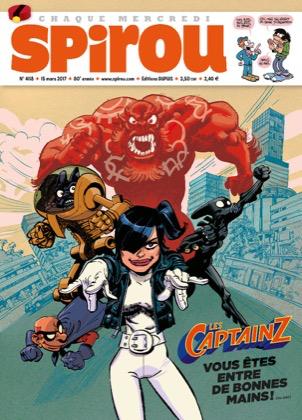 Le journal de Spirou 4118 - Les Captainz