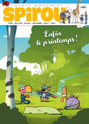 Le journal de Spirou 4119 - LES CAVALIERS DE L'APOCADISPE