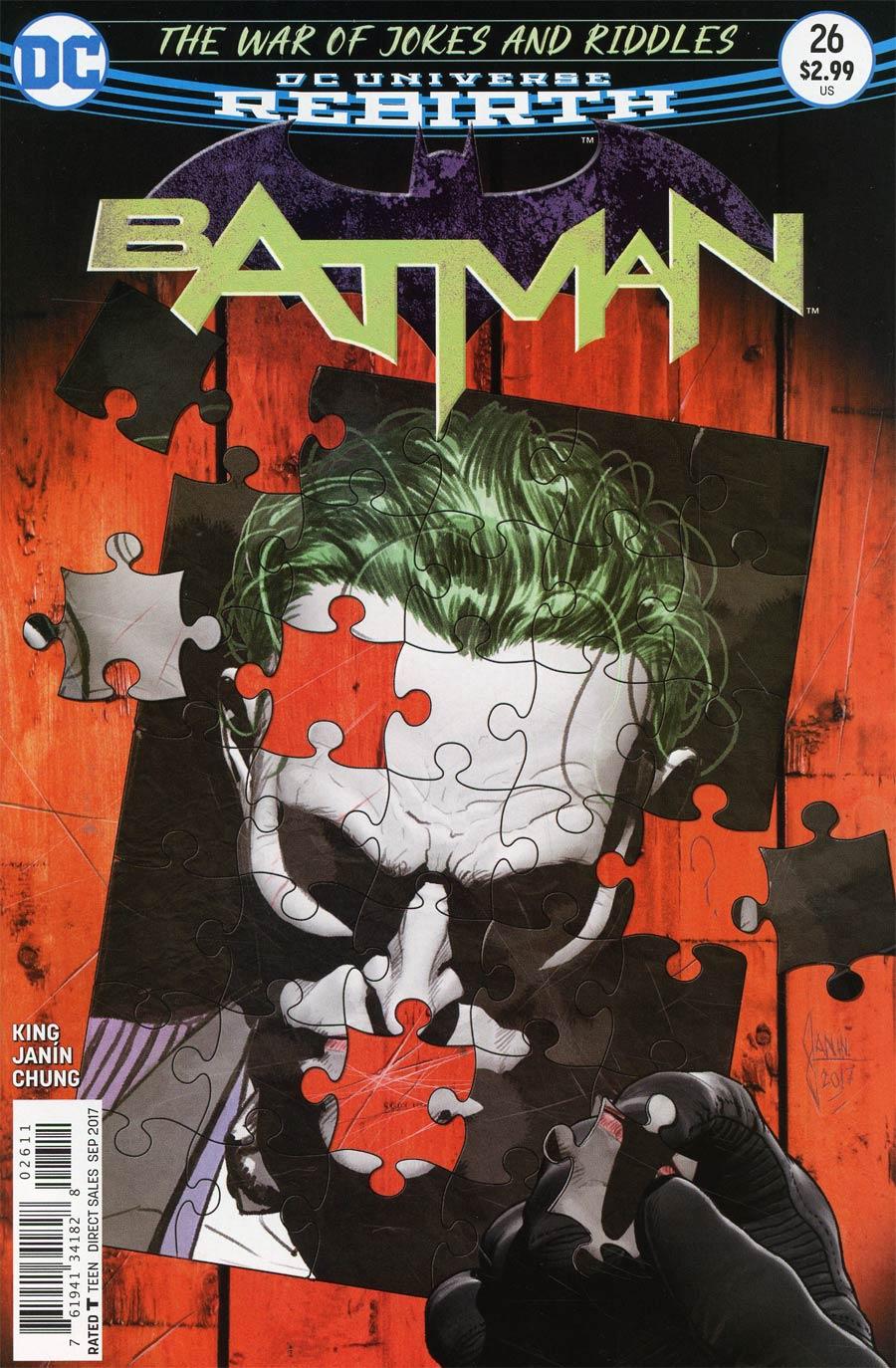 Batman 26 - The War of Jokes and Riddles 2