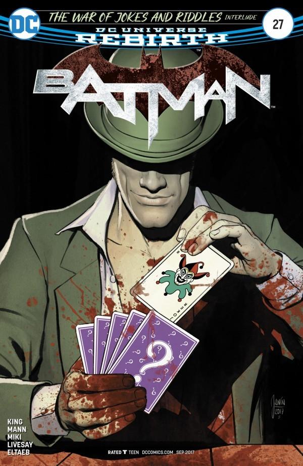 Batman 27 - The War of Jokes and Riddles Interlude: The Ballad of Kite Man Part 1