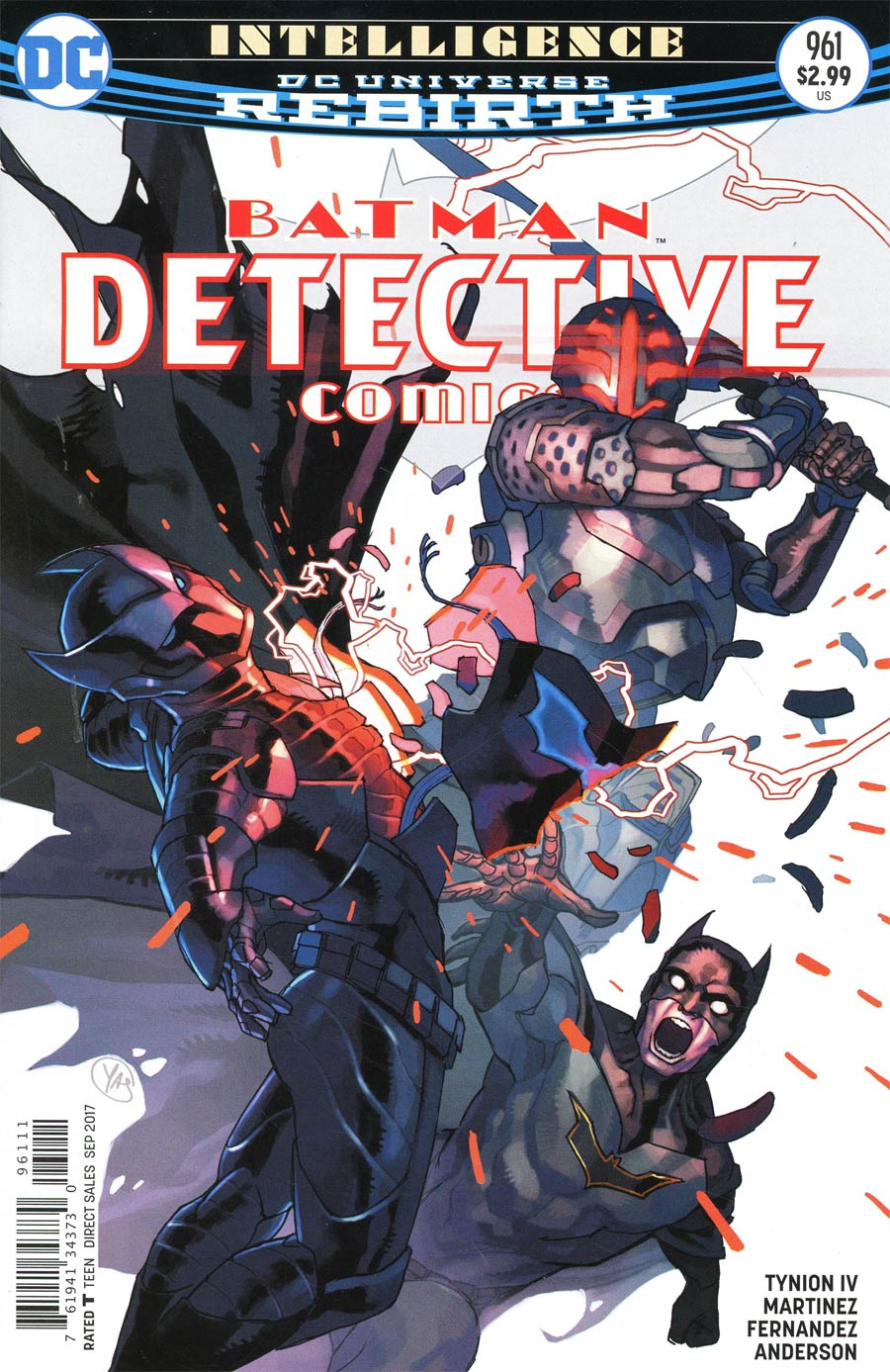 Batman - Detective Comics 961 - Intelligence 4: Ghost in the Shell