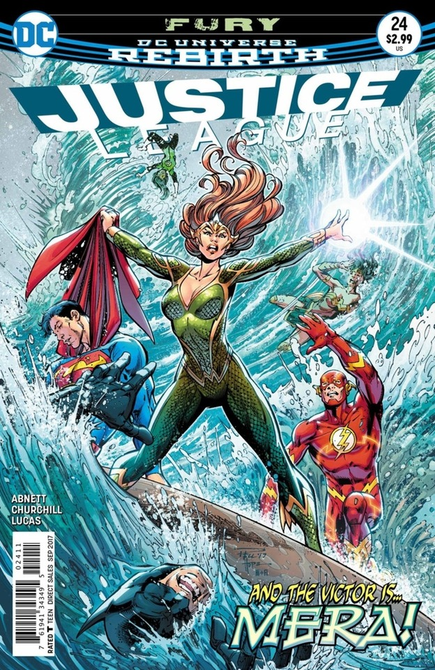 Justice League 24 - 24 - cover #1