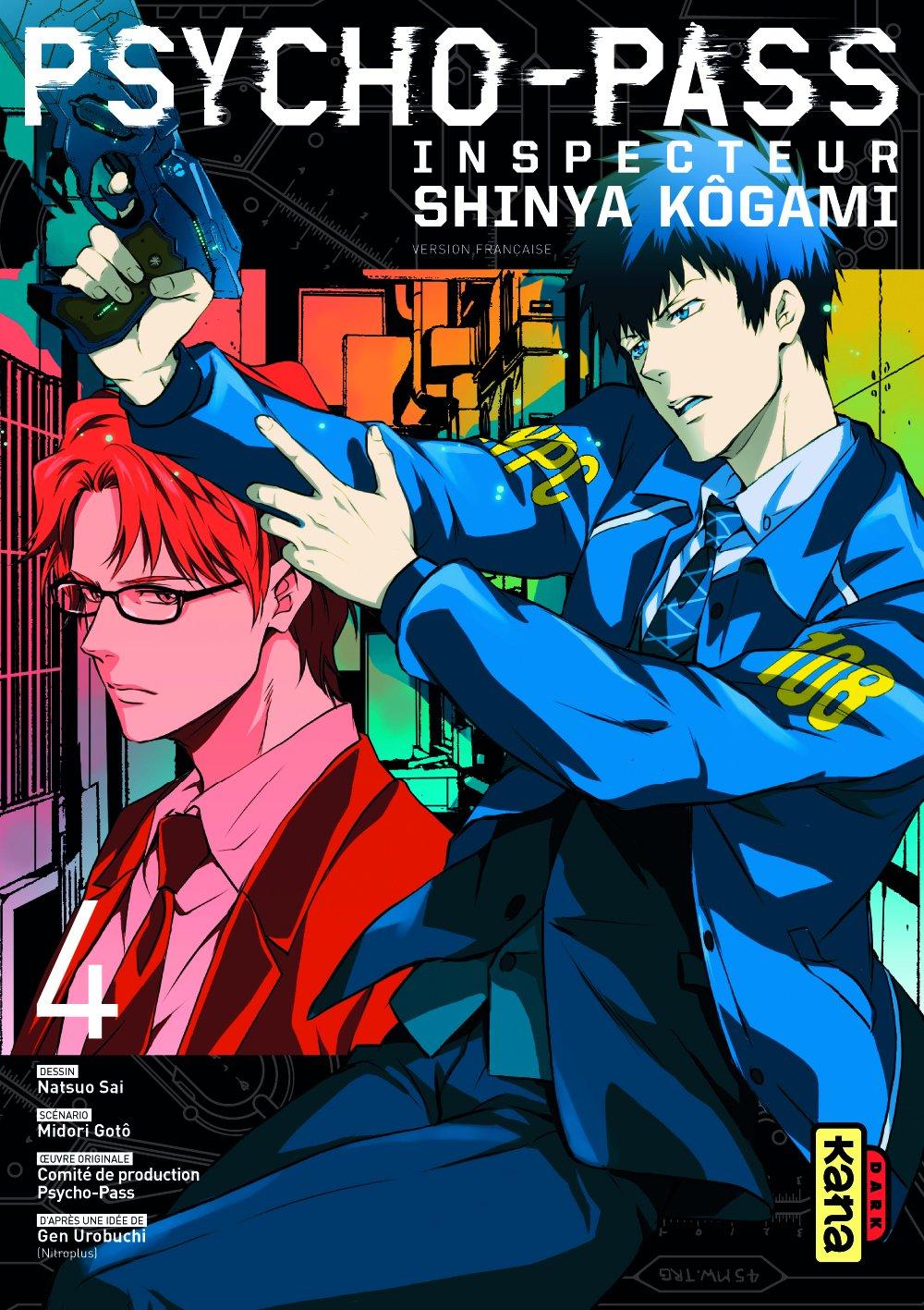 Psycho-Pass, Inspecteur Shinya Kôgami 4