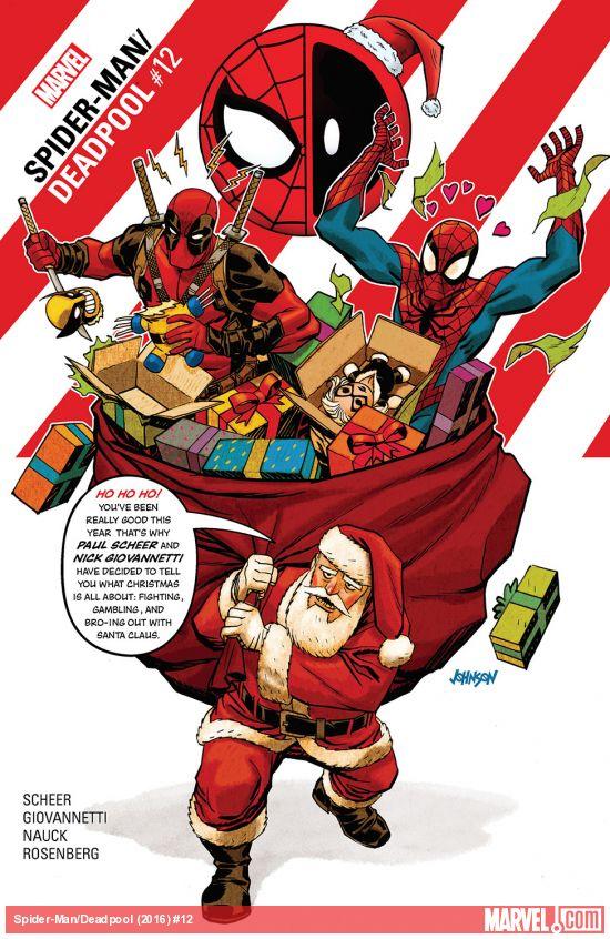Spider-Man / Deadpool 12 - The Spider-Man/Deadpool Ho-Ho-Holiday Special!